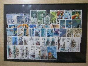 D1182 AUSTRALIEN AUSTRALIA ANTARKTIS Sammlung 1957-1982 oo komplett