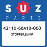 42110-60A10-000 Suzuki Stopper,bump 4211060A10000, New Genuine OEM Part