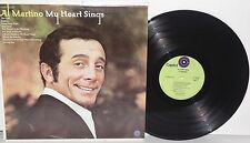 AL MARTINO My Heart Sings LP Plays Well Pop Vocal Easy Listening 1970 Capitol
