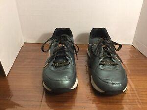 Skechers Air Cooled Memory Foam Sneakers Greenish Blue 9M