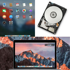 Macbook Pro, Mac mini Quick HDD Replacement 1TB  pre-loaded OS upgrade/repair