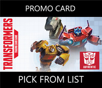Transformers TCG Hasbro WOTC Promo Energon Card - Pick From List