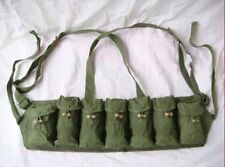 Military Surplus Vietnam War Chinese Type 63 Auto Chest Rig Ammo Pouch