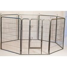 Heavy Duty Metal Tube pen Pet Dog Exercise & Training Playpen - 24 Height 92147