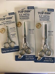Top Paw Ball Tip, Thinning or Straight Scissors Brand New