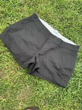 Old Navy womens size 8  Black Chino Short Shorts