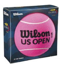 Licensed Wilson US OPEN Jumbo Pink Felt 5.5 inch Tennis Ball NEW in Box