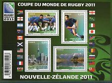 TIMBRES 4576-4579 NEUF XX -CHAMPIONNATS DU MONDE 2011 DE RUGBY EN NLLE ZELANDE