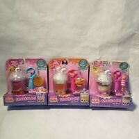 Lot of 3 Num Noms Snackables Silly Shakes. Candy Corn, Berry, and Neapolitan NEW