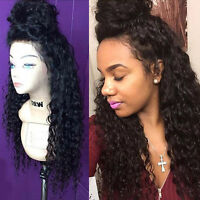 New Glueless Brazilian  Human Hair wigs Curly full lace wigs  lace front Wigs