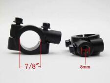 2 x Spiegelschelle Spiegelhalter Halter Spiegel Lenker M8 Motorrad Trike  8 mm