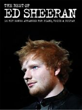 Play The Best Of Ed Sheeran The A Team DRUNK Lego House Piano PVG MUSIC BOOK