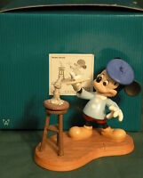 """WDCC Disney MICKEY MOUSE  """"CREATING A CLASSIC""""  With Box but NO COA"""