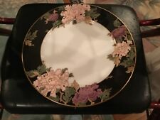 Fitz And Floyd Dinner Plate Cloisonnse Peony 10 1/4 Inch. Beautiful Brand New