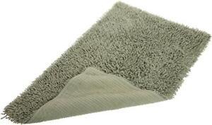 "Pinzon Luxury Loop 21"" By 34"" Cotton Bath Rug Mat, Sage Green WASHABLE"