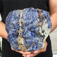 4.22LB natural sodalite quartz crystal rough crystal specimen healing