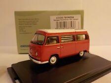 VW Camper - Red / White   1:76 Oxford Diecast Model Car British