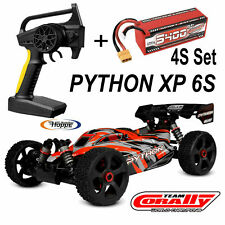 TEAM CORALLY C-00181 Python XP 1-8 Buggy Rtr Brushless + 1 Pieza 4S Lipos Set