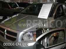DODGE CALIBER 5-portes 2006-2011 Deflecteurs de vent 2-pièces HEKO Bulles