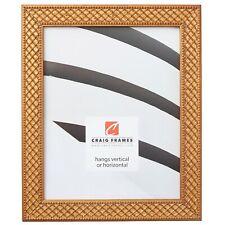 Craig Frames Lenox, 1.13 Inch Antique Gold Solid Wood Picture Frame