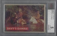 1956 DAVY CROCKETT PSA 7 DAVY'S GAMBLE #11A BVG 5 EXCELLENT