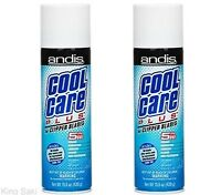 ANDIS Cool Care Plus Clipper Disinfectant Lubricating Spray 5-In-1 #12750 2 Pack