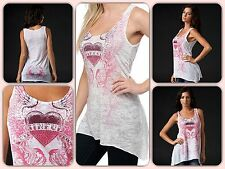 New Sinful by Affliction ARBUTUS Tunic Size L. * FREE SHIPPING
