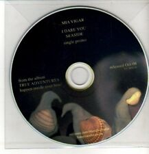 (CQ560) Mia Vigar, I Dare You / Seaside - 2008 DJ CD