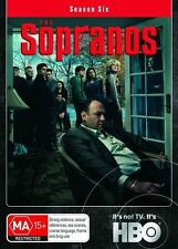 The SOPRANOS Season  6 Six /  4 Disc DVD Set  R4