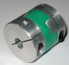 8 mm Shaft Flexible Oldham Coupling - NBK MOS-32C 8mm - Aluminum / Polyacetal