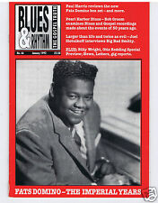 MAGAZINE BLUES & RHYTHM GOSPEL TRUTH FATS DOMINO (No 66 JANUARY 1992)