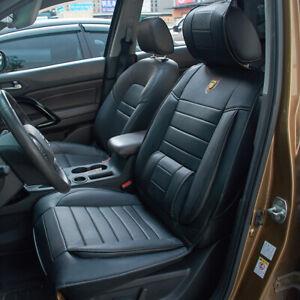 1x Sitzbezüge Universal  Schwarz Neu Vordersitze Auto Sitzbezug Schonbezug Vorne