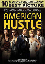 American Hustle (DVD, Sealed, 2014) Christian Bale, Bradley Cooper, Amy Adams