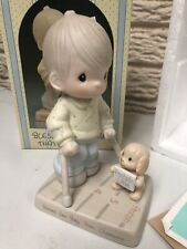 Precious Moments Blessed Are They That Overcome Easter Seals Figurine
