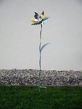 Solarblume aus Metall, Dekoblume für den Garten