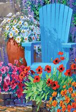 The Flowers Theme Decorative House Banner Double-sided Garden Flag Yard Flag