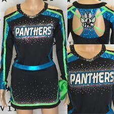 Cheerleading Uniform Panthers Rebel Athletic Adult Med