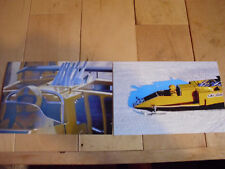 Vintage Ski Doo Snowmobile Drag Race X-4R Sled Speed Run Race Pictures LOT of 2