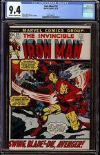 Iron Man # 51 CGC 9.4 CRM/OW (Marvel, 1972) Great Pictureframe cover