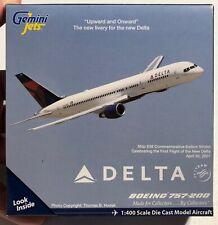 Gemini Jets Boeing 757-200 Delta Air Lines 1/400 GJDAL810 NEW Model 'Sullys