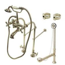 Satin Nickel Clawfoot BathTub Faucet Package Kit - CCK5178AX