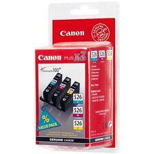 Canon CLI-526 Cyan, Magenta, Yellow Ink Cartridge