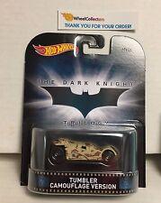 Tumbler Camouflage * The Dark Knight Batman * Hot Wheels Retro * NE2