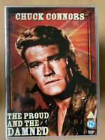 The Proud And The Damned 1972 Cult Western UK DVD