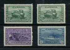 SUPERB centering high value War Issue to $1.00 Cat $250 Canada mint