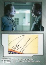 Terminator 2 T2 Don Stanton as Lewis the Guard DOS4 Cut Autograph Card 1 of 4