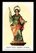 santino-holy card*S. LUCIA V.M.-VALENCIA