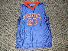 Allan Houston # 20  New York Knicks Youth Basketball Jersey Medium