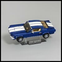 Ford Mustang Acrylic Display Stand for LEGO model (10265)