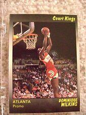 1990 STAR CO DOMINIQUE WILKENS COURT KINGS PROMO CARD ATLANTA HAWKS RARE